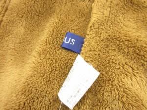 ファビウス FABIUS ジャケット コート フェイクスエード ボア リボン 9 茶 ブラウン /hk レディース ベクトル【中古】
