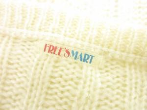 フリーズマート Free's Mart セーター ニット 七分袖 ショート M 白 オフホワイト /ts レディース ベクトル【中古】