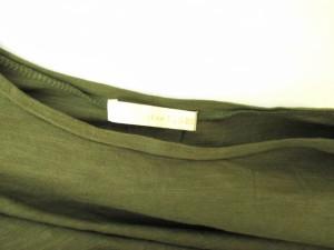 イエナ スローブ IENA SLOBE カットソー Tシャツ フレンチスリーブ ショート丈 無地 カーキ /KY レディース