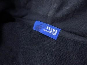 ビームス BEAMS ジャケット トグルボタン スウェット フード 紺 ネイビー ats レディース ベクトル【中古】