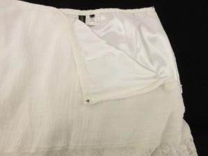 ジルスチュアート JILL STUART スカート プリーツ ミニ レースアップ チュール 2 白 ホワイト ベージュ /ny レディース ベクトル【中古】