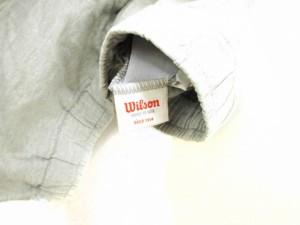 ウィルソン WILSON パンツ イージー ハーフ ショート ドロスト プリント L グレー /KY メンズ