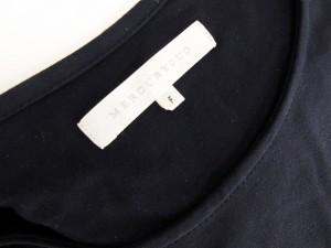 マーキュリーデュオ MERCURYDUO カットソー ティーシャツ 半袖 F 紺 ネイビー ako レディース ベクトル【中古】