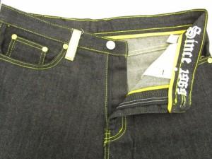 クージー COOGI パンツ デニム ジーンズ ロング 刺繍 34 黒 ブラック /☆a メンズ ベクトル【中古】