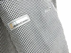 ロベルタディカメリーノ Roberta di Camerino ジャケット テーラード チェック コットン S 白 ホワイト /hn メンズ ベクトル【中古】