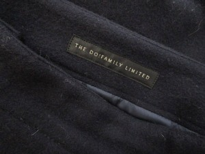 ドゥファミリィ DO! FAMILY LIMITED スカート ひざ丈 台形 ウール S 紺 ネイビー /nn レディース ベクトル【中古】