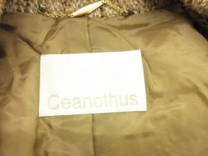 セアノサス Ceanothus コート ループ ロング ウール アルパカ アンゴラ 36 ベージュ 茶 ブラウン /tm レディース ベクトル【中古】