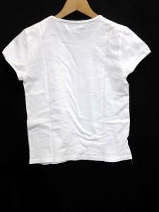 ジルスチュアート JILL STUART Tシャツ プリント クルーネック 半袖 S 白 【中古】 ベクトル【中古】