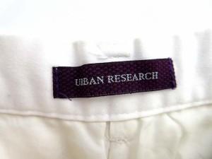 アーバンリサーチ URBAN RESEARCH パンツ ショート ポケット ボタン 無地 36 白 【中古】