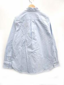 ロペピクニック ROPE Picnic シャツ ブラウス 長袖 38 青 /YY135 【中古】