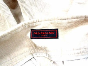 オールドイングランド OLD ENGLAND パンツ ワイド 無地 ベージュ 36 /KK975 【中古】 ベクトル【中古】