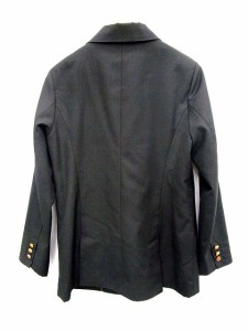 ページボーイ PAGE BOY テーラード ジャケット ブレザー ダブルボタン M 黒 /RN226  【中古】 ベクトル【中古】