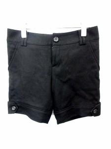 レイビームス Ray Beams パンツ ショート 無地 XS 黒 /DI673 【中古】 ベクトル【中古】