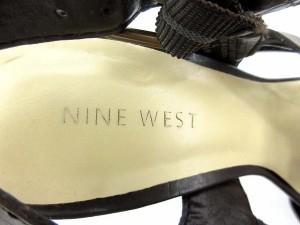 ナインウエスト NINE WEST サンダル ピンヒール グラディエーター 茶 5.5 /DK141 レディース ベクトル【中古】