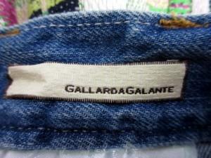 ガリャルダガランテ GALLARDAGALANTE スカート デニム ミニ ツイード 36 ブルー /AK4 レディース ベクトル【中古】