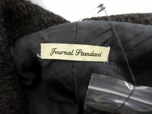 ジャーナルスタンダード JOURNAL STANDARD ジャケット ビックカラー 変形 総柄 茶 /NS16 レディース ベクトル【中古】