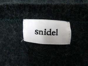 スナイデル snidel セーター ニット 長袖 F アンゴラ混 緑 /AK27 レディース ベクトル【中古】