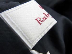 ルビーリベット Rubyrivet パンツ ショート バイカラー 38 グレー 黒 /SR19 レディース ベクトル【中古】