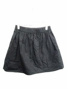 アナトリエ ANATELIER スカート フレア ミニ 黒 36 /IH468 レディース ベクトル【中古】