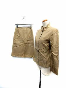 ファイナルステージ FINAL STAGE セットアップ ジャケット スカート ベージュ 34 /SN レディース ベクトル【中古】