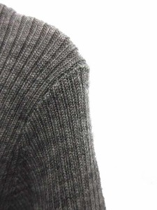 ギャラリービスコンティ GALLERY VISCONTI ニット セーター タートルネック 2 長袖 グレー /MK15 レディース ベクトル【中古】