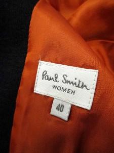 ポールスミスウィメン Paul Smith WOMEN ジャケット テーラード シングル 40 黒 /SN26 レディース ベクトル【中古】