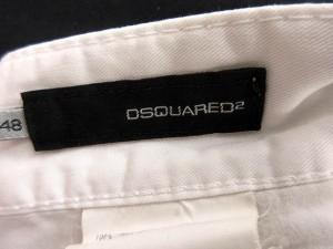 ディースクエアード DSQUARED2 パンツ チノパン ロング 白 48 /AO16 メンズ