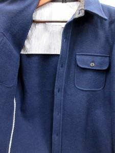 ジャーナルスタンダード JOURNAL STANDARD ジャケット カバーオール ウール L 紺 /AK19 メンズ