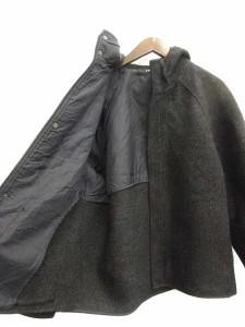 サムソナイト Samsonite コート フード付き 46 黒 /KN11 メンズ ベクトル【中古】