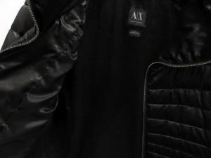 アルマーニエクスチェンジ A/X ARMANI EXCHANGE ジャケット 中綿 ジップアップ 黒 M /AO8 レディース ベクトル【中古】