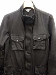 ブラック バイ マウジー BLACK by moussy ジャケット ワーク スタンドカラー ジップアップ 1 黒 /YH25 レディース ベクトル【中古】