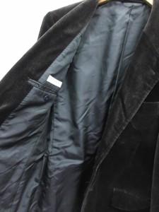 ユナイテッドアローズ UNITED ARROWS ジャケット テーラード ベロア S 黒 /CY17 メンズ ベクトル【中古】