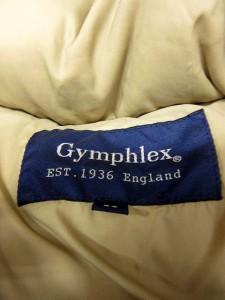 ジムフレックス Gymphlex ジャケット ダウン フード スタンドカラー ジップアップ 14 ベージュ /YH6 レディース ベクトル【中古】