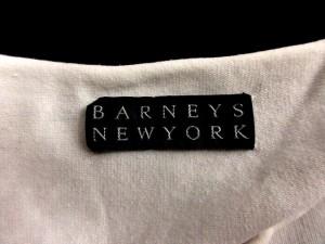 バーニーズニューヨーク BARNEYS NEW YORK カットソー Tシャツ 半袖 ボーダー S 白 ネイビー ベクトル【中古】