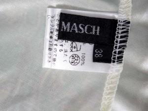 ミッシュマッシュ MISCH MASCH チュニック 袖シフォン レース 総柄 ミントグリーン クリーム 38 【中古】 ベクトル【中古】
