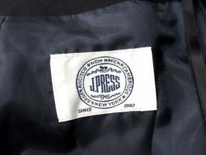 ジェイプレス J.PRESS スカート タイト ひざ丈 無地 黒 【中古】