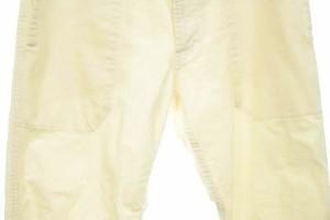 アーバンリサーチ ドアーズ URBAN RESEARCH DOORS パンツ コーデュロイ クロップド 2 白 レディース ベクトル【中古】