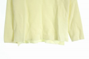 アースミュージック&エコロジー EARTH MUSIC & ECOLOGY セーター ニット ボトルネック 長袖 F 白 レディース ベクトル【中古】