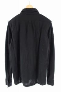 ライル&スコット LYLE&SCOTT シャツ ポロシャツ ボタンダウン 長袖 M 黒 レディース ベクトル【中古】