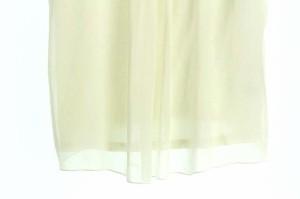 レッセパッセ LAISSE PASSE カットソー プルオーバー ビジュー 半袖 38 白 レディース ベクトル【中古】