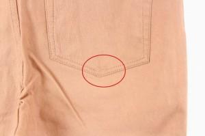 ショコラフィネローブ chocol raffine robe パンツ スキニー ストレッチ M ピンク レディース ベクトル【中古】