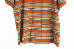 スワッガー SWAGGER Tシャツ カットソー クルーネック ボーダー 半袖 L ベージュ メンズ ベクトル【中古】