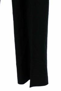 セオリー theory パンツ スラックス ブーツカット 2 黒 レディース