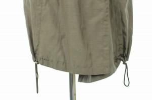 メイソングレイ MAYSON GREY コート ミリタリー ダブル フード ベルト付き 半袖 2 茶 レディース ベクトル【中古】