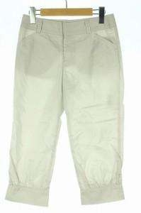 マカフィー MACPHEE トゥモローランド パンツ クロップド 36 グレー レディース ベクトル【中古】