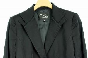 クードシャンス CdeC COUP DE CHANCE ジャケット テーラード 総裏地 38 黒 レディース ベクトル【中古】