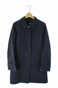 無印良品 良品計画 コート ステンカラー ライナー 中綿 S 紺 レディース ベクトル【中古】