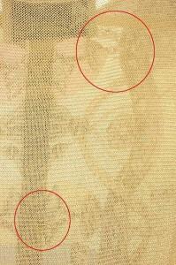 リストワールスレペテ L'histoire se repete カットソー 切替 シルク ニット ノースリーブ ベージュ レディース ベクトル【中古】