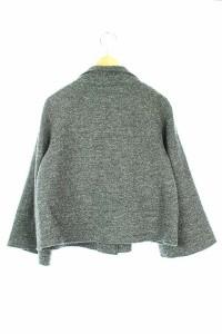 リフレクト Reflect ジャケット ショート 七分袖 9 グレー レディース ベクトル【中古】