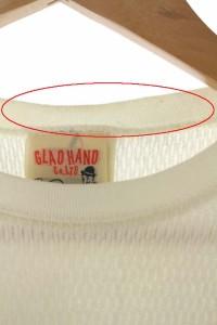 グラッドハンド GLAD HAND&CO. カットソー 長袖 S オフホワイト /Y★ レディース
